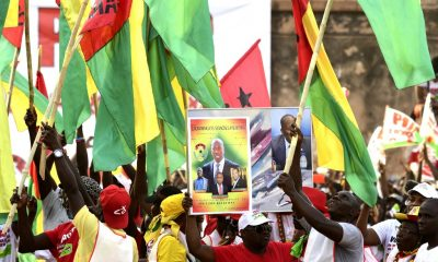 Main party candidate leads Guinea-Bissau presidency race