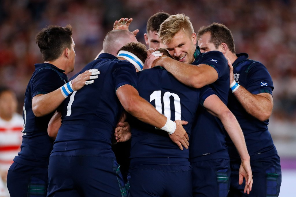 Scotland set to face world champions Springboks