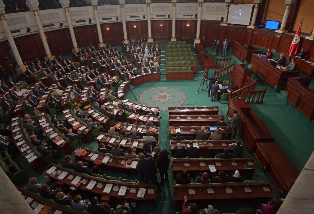 Tunisian MP accused of indecency sworn in despite protests