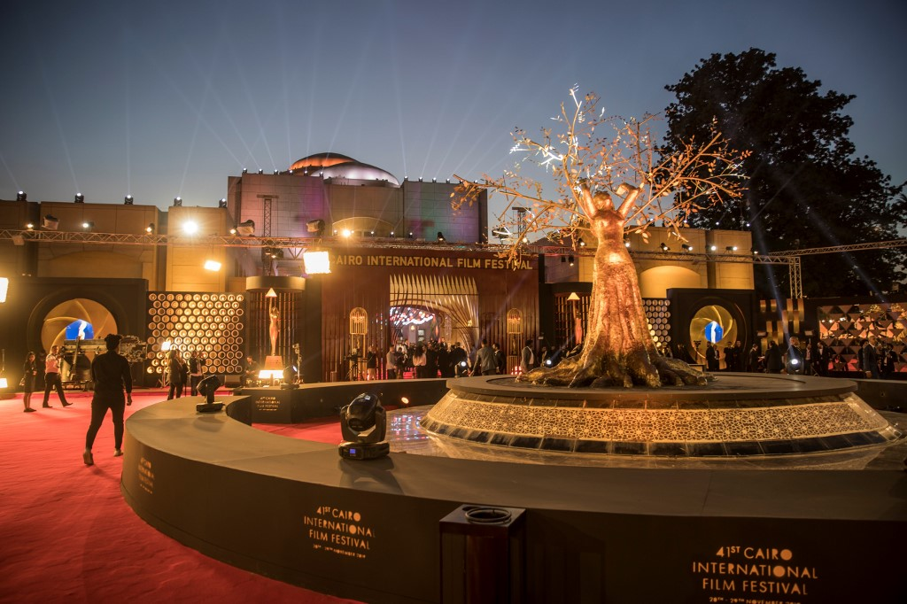 Photo Story: Opening ceremony of the 41st edition of the Cairo International Film Festival (CIFF)