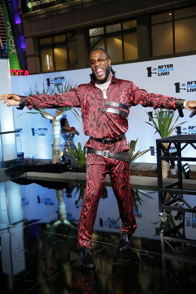 Burna Boy wins EMA Best African Act