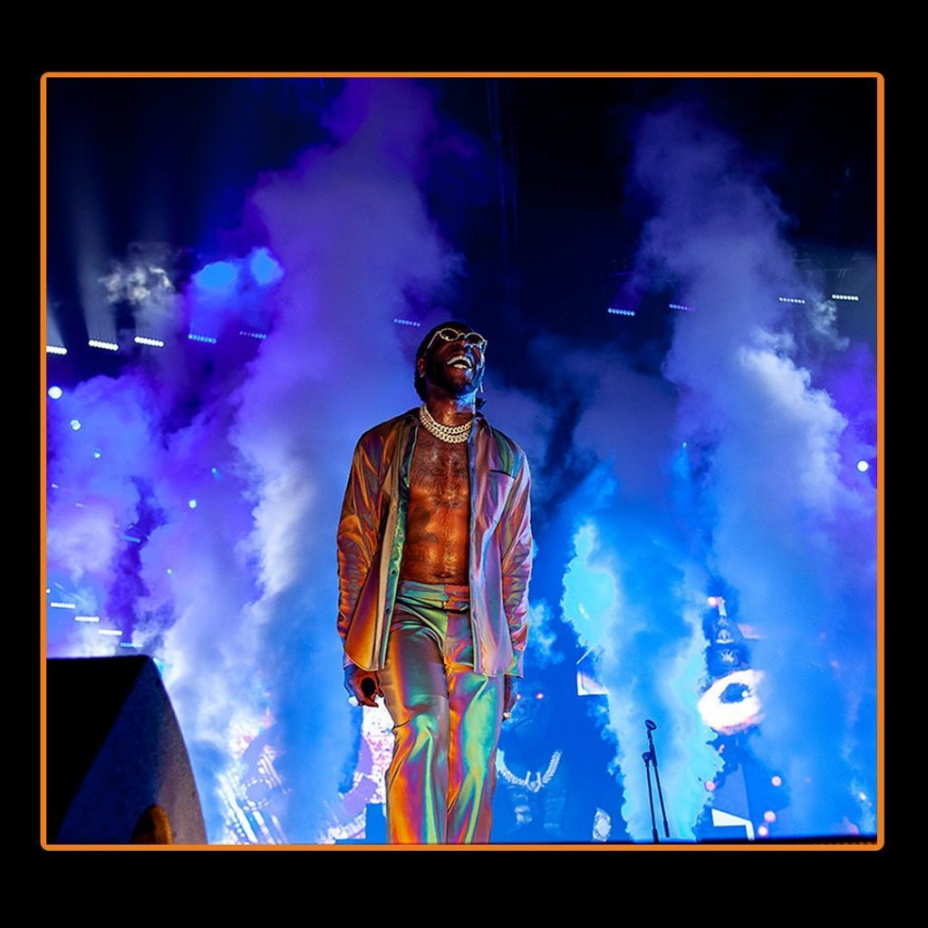 South Africans protest against Burna Boy's performance at the Africans Unite Concerts
