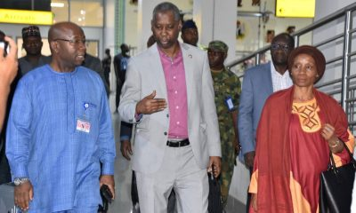 UN General Assembly President, Muhammed-Bande arrives Nigeria