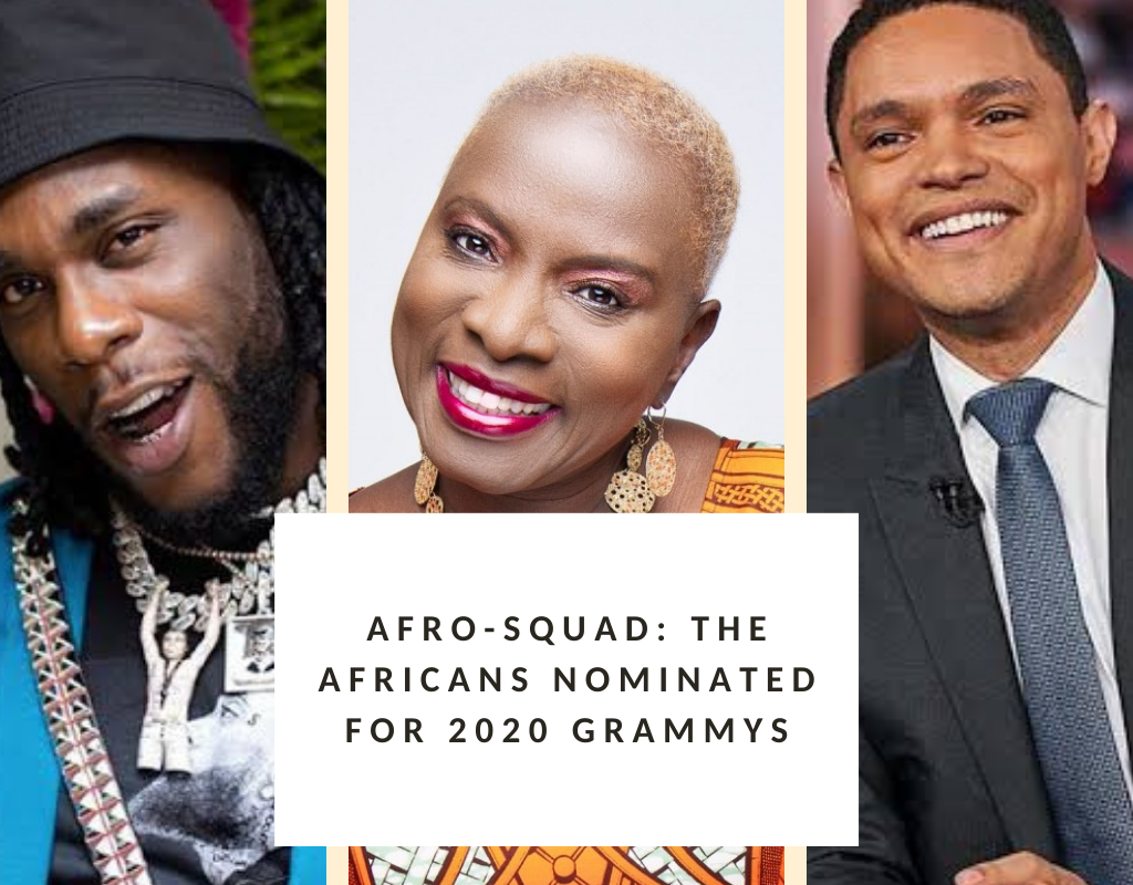 Afro-Squad: The Africans nominated for 2020 Grammys