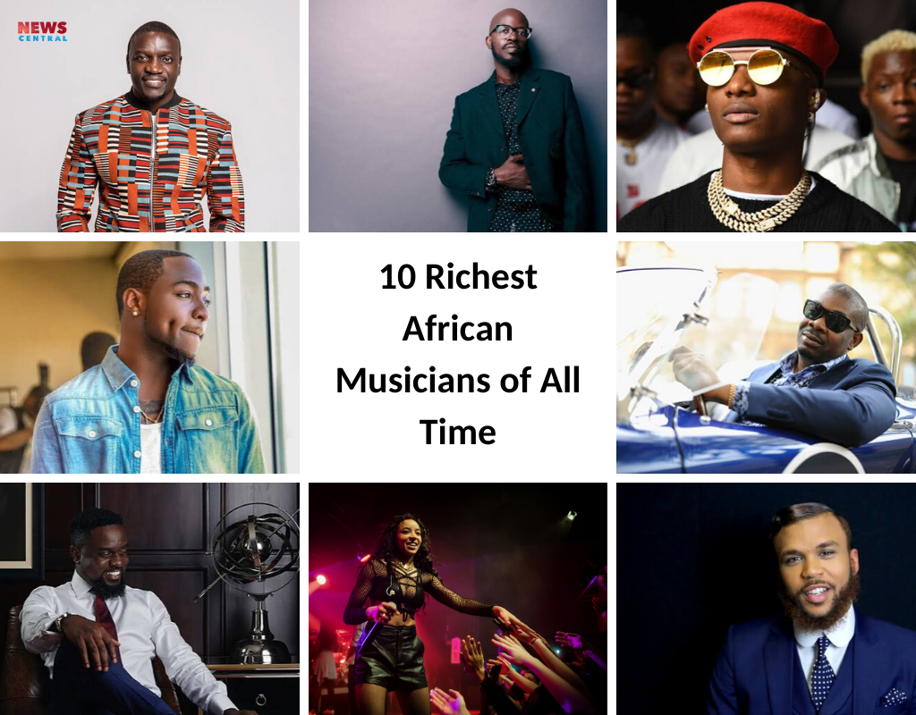 10 Richest African Musicians of All Time (2019) | News Central