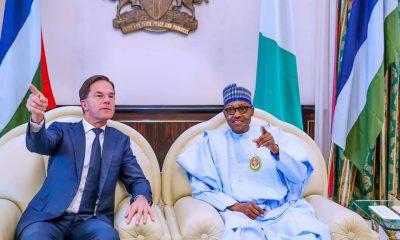 Nigerian President Buhari hosts Dutch Prime Minister in Abuja