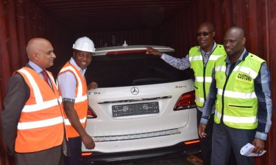 Kenya returns stolen luxury vehicles