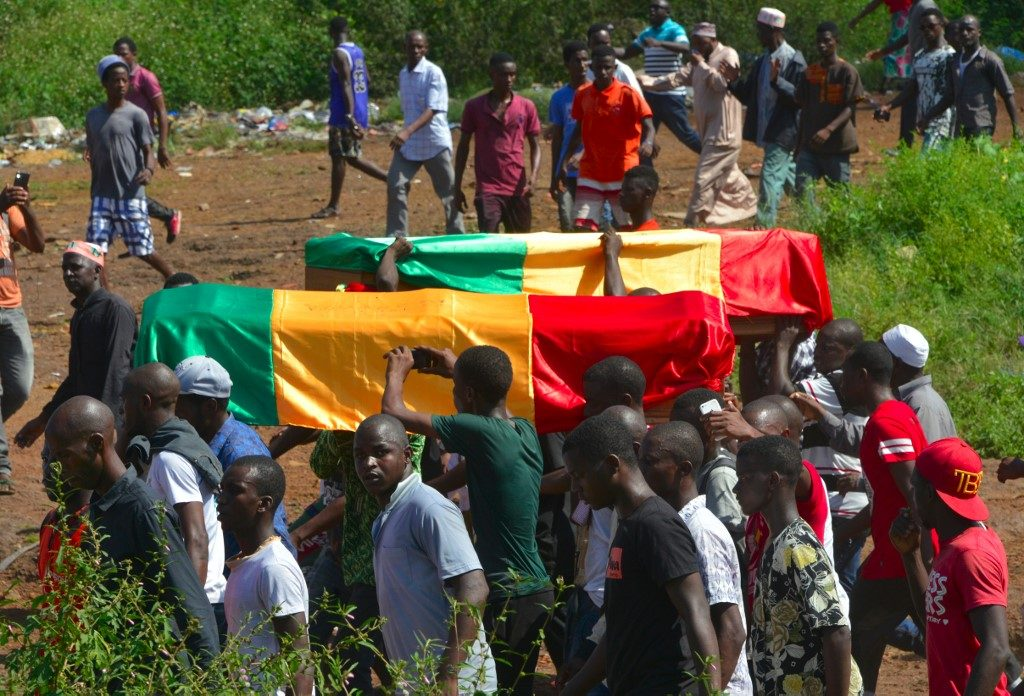 Violence during funeral march in Guinea leaves two dead