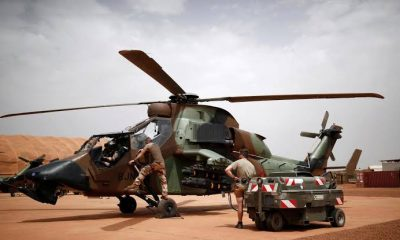 13 French soldiers die from helicopter collision during operation in Mali