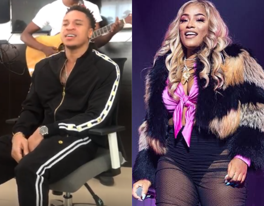 Rotimi and Stefflon Don herald Yuletide aura in Lagos with visits