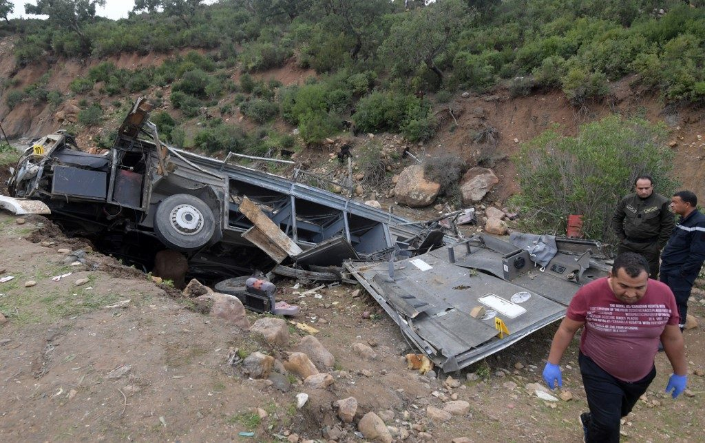 Death toll in Tunisia bus accident rises to 26