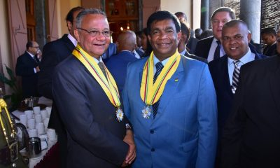 Mauritius installs ex-culture minister as president