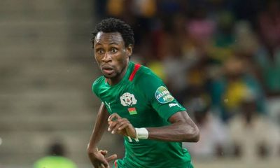 Burkina Faso striker Jonathan Pitroipa quits international football at 33
