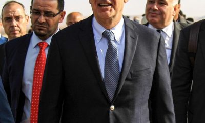 Libya's UN-backed government protests Greek minister's meeting with Haftar forces