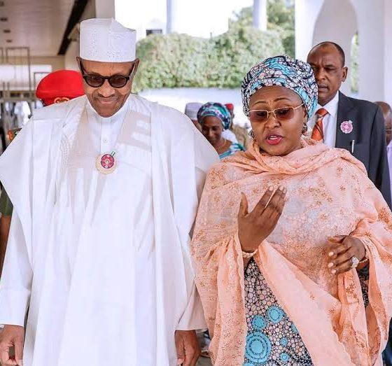 Nigerian President Muhammadu Buhari marks 30th wedding anniversary with wife, Aisha