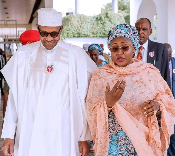 Nigerian President Muhammadu Buhari marks 30th wedding anniversary with wife, Aisha