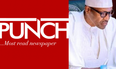 buhari unbothered by Punch calling him Major General