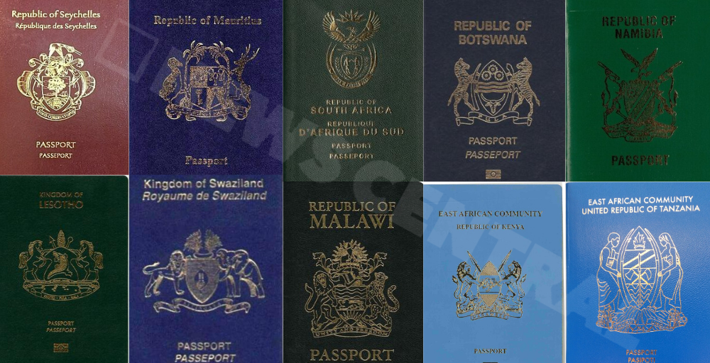 10 Strongest And Most Powerful Passports In Africa News Central