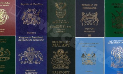 Seychelles, Mauritius and South Africa top Africa's strongest passport rank