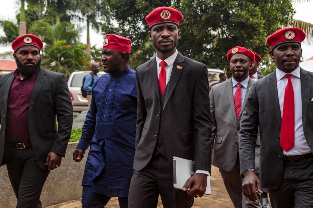 Police arrest Ugandan pop-star MP Bobi Wine, supporters teargassed