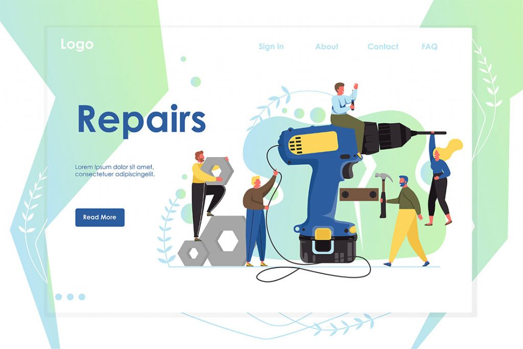 Get a cool Handyman website