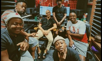 South African DJs, Prince Kaybee and Shimza bury beef, collaborate on a new song