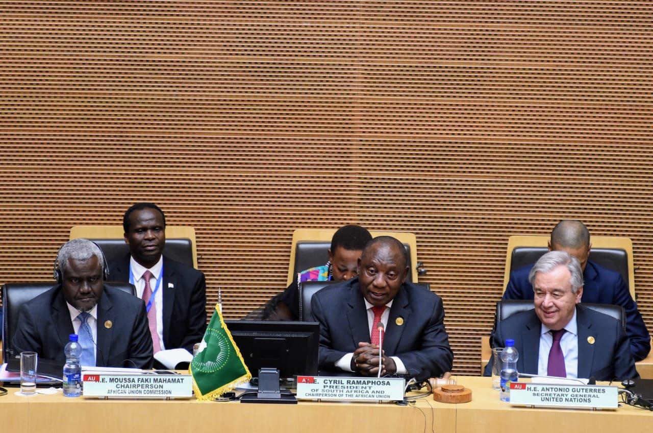 Ramaphosa takes over AU rotating chair