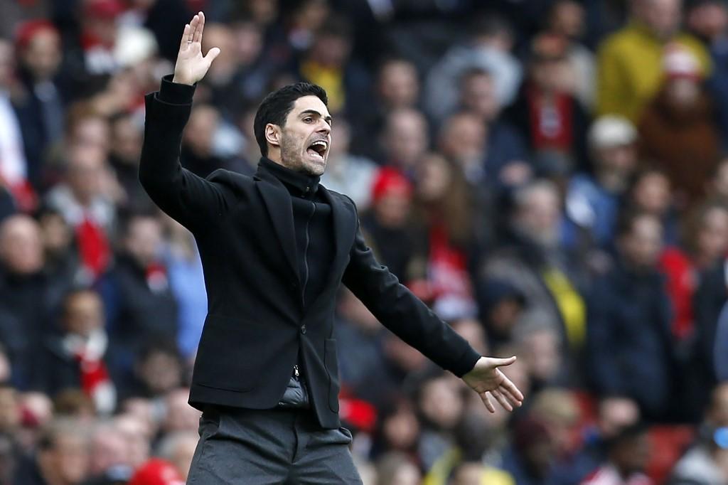 Arsenal's Spanish head coach Mikel Arteta contracts Covid-19