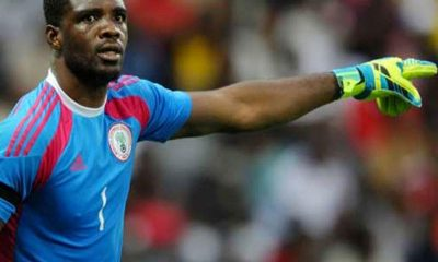 Akpeyi recalled by Nigeria for Sierra Leone games