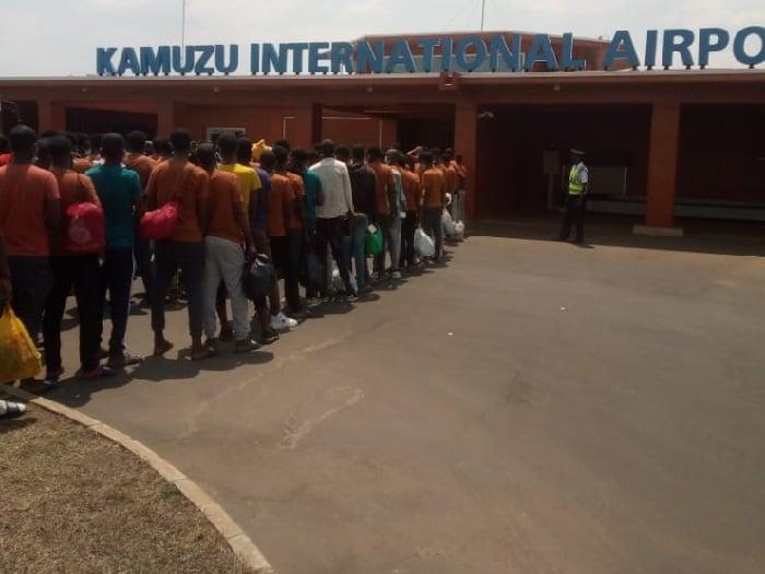 Immigration: Malawi Deports 123 Ethiopians(News Central TV)