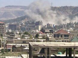 Mekelle Air strikes Hit Capital of Ethiopia's Tigray (News Central TV)
