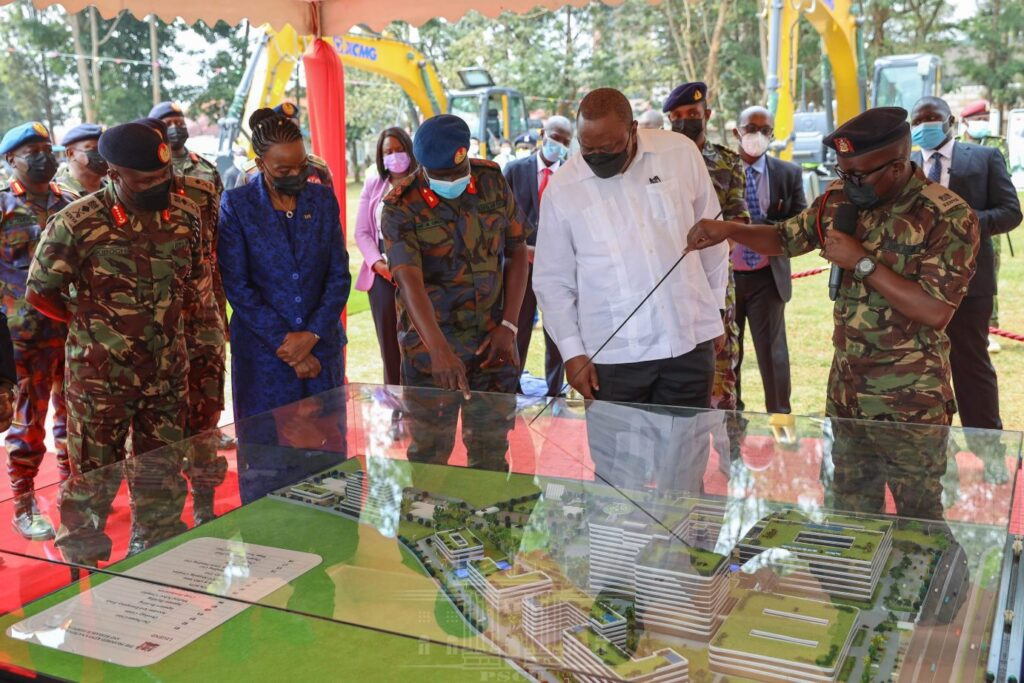 President Uhuru Kenyatta Launches New Hospital for the Armed Forces (News Central TV)