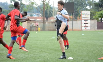 Uganda Coach Johnathan McKinstry