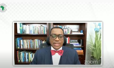 Virtual investiture of Akinwunmi Asdesina